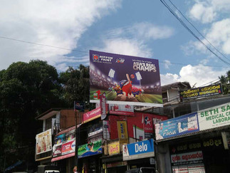 Nippon Paint Asia Cup Campaign - Awissawella Hoarding