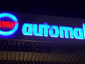 AMW Automall branding @ Malabe