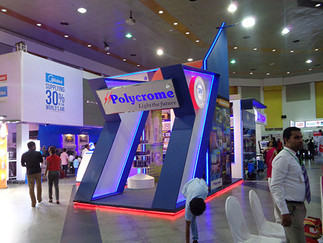 Polychrome Exhibition Stall - Construct 2016 @BMICH Colombo