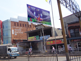 Nippon Paint Asia Cup Campaign - Kandana Hoarding