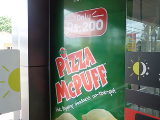 Pizza Puff Launch @ McDonald's