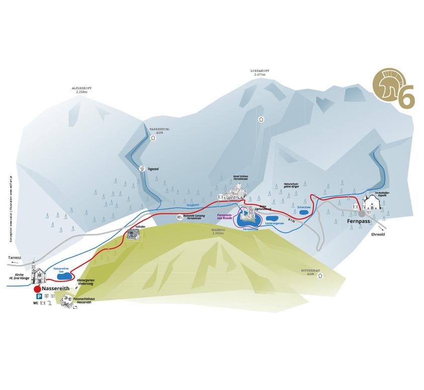 Starkenberg Detailkarte