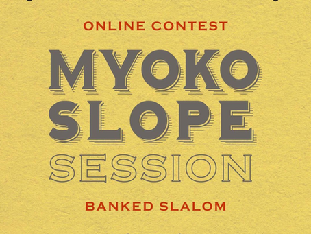 Myoko Slope Session開催!!