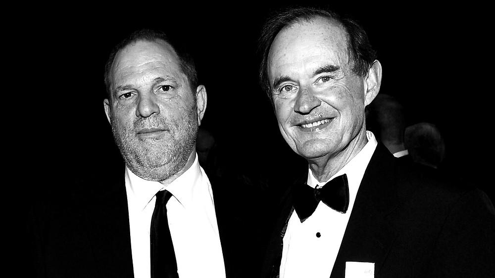 Harvey Weinstein e David Boies - Imagem: Getty Images