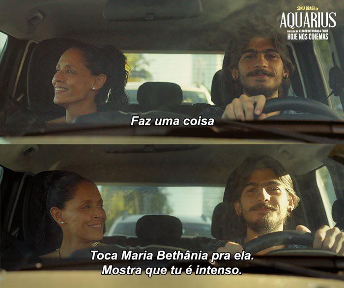 """Cena de """"Aquarius"""" (2016). Imagem: O Globo"""