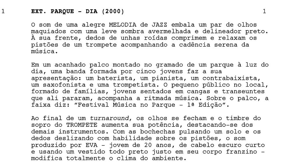 """Trecho de """"Eva"""", de Guilherme Petry."""