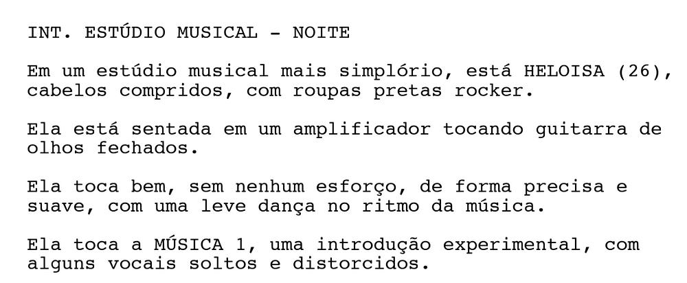 """Trecho de """"6 Músicas"""", de Pryka Almeida."""