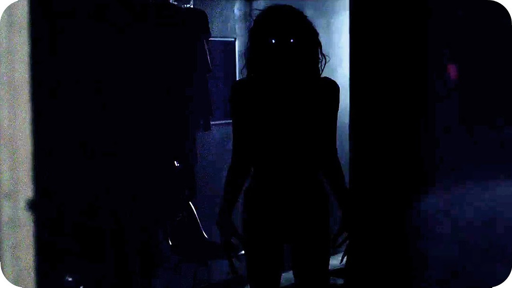 """O curta de """"Lights Out""""."""