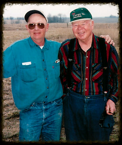 Phillip Thomas and Bill Copple