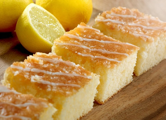Gluten Free Lemon Drizzle Traybake