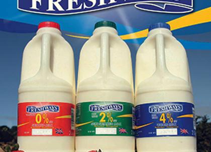 2ltr Semi Skimmed Milk