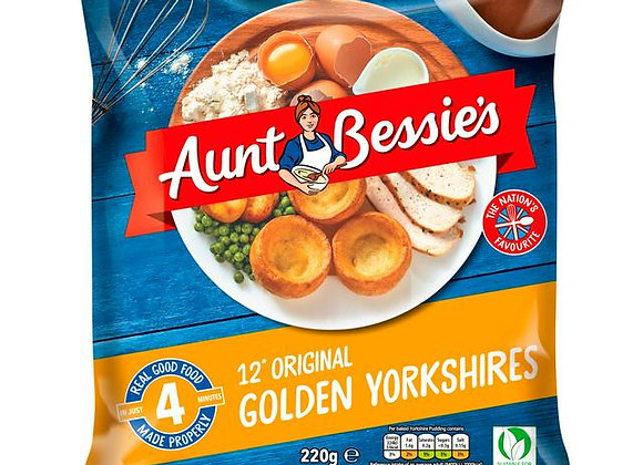 Aunt Bessies Yorkshire Puddings 1 x 12