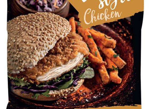 8 Crunchy Breaded Chicken Breast Fillets 960g