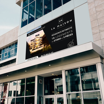 Panneau NG Promotion - La-Maison