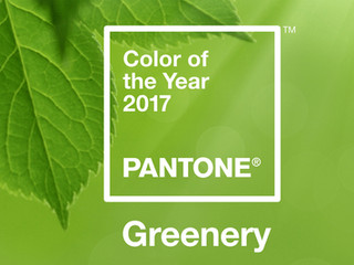 Greenery, couleur Pantone 2017