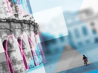 Création de visuels pour la Banque Populaire Nîmes Victor Hugo