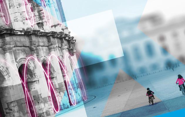 Création graphique Banque Populaire Nîmes - Graphiste freelance Michel Douliez