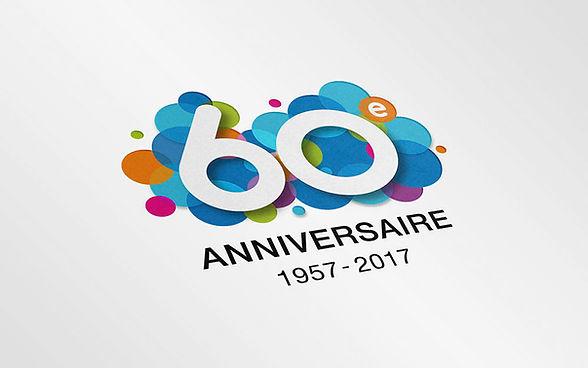 Logo 60ᵉ anniversaire Vivadom