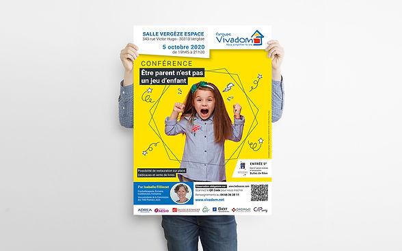 Affiche conférence 2020 - Vivadom