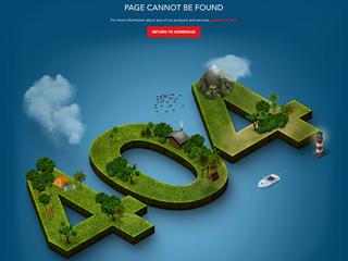 15 magnifiques pages d'erreur 404