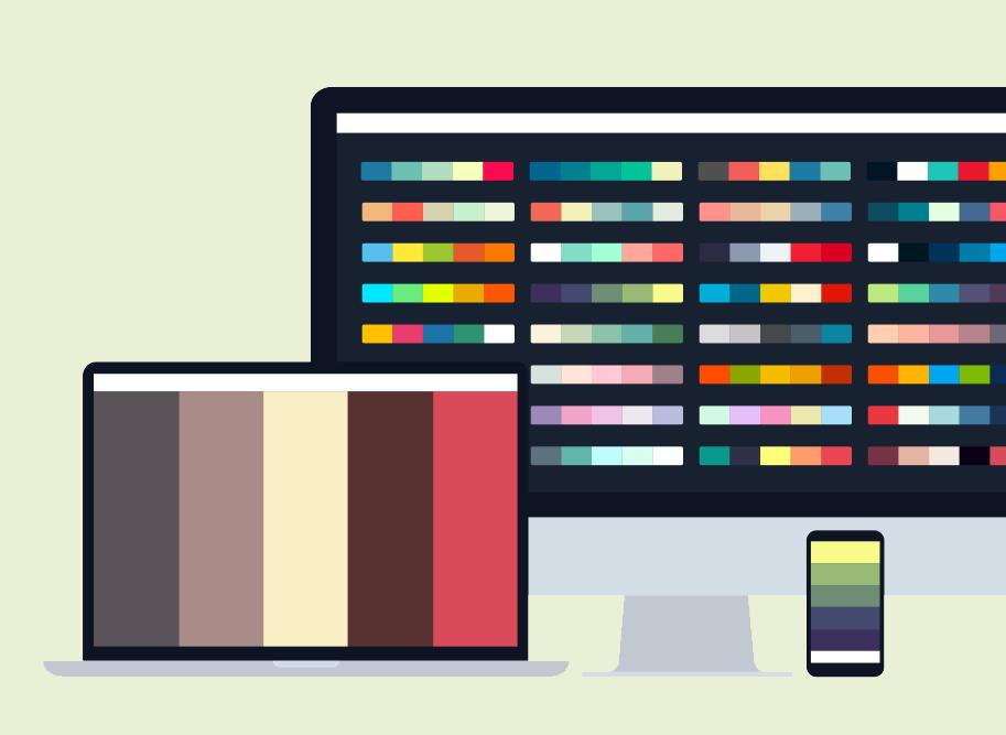Coolors, créez votre palette de couleur. Graphiste Nimes, Montpellier, Alès, Arles