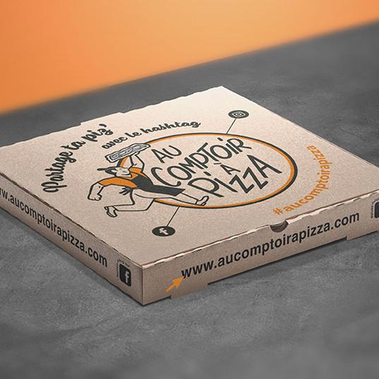 Boîte à pizza