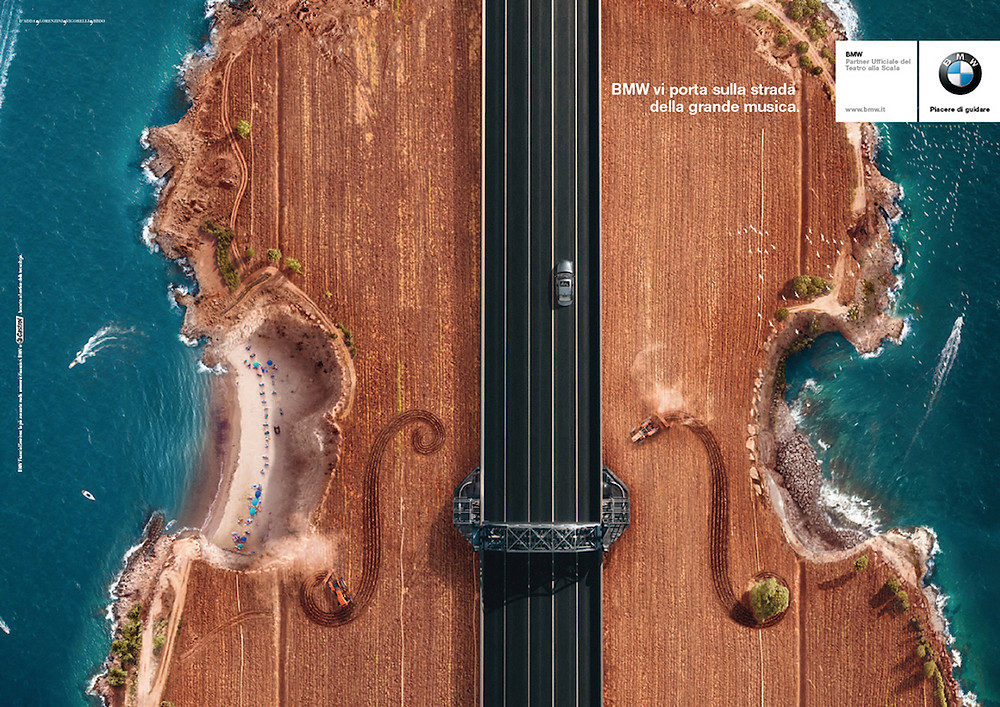 Pub BMW La Scala - Le violon