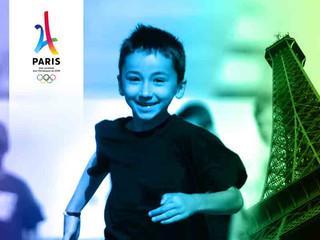 Logo de la ville de Paris pour les J.O. de 2024