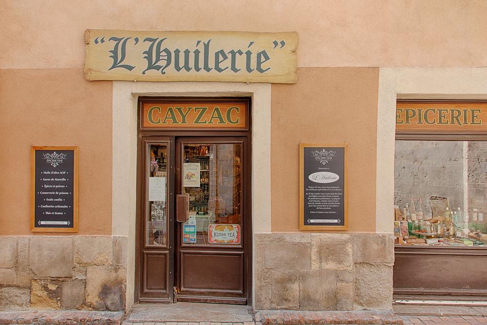 Photo de l'épicerie fine L'Huilerie à Nîmes