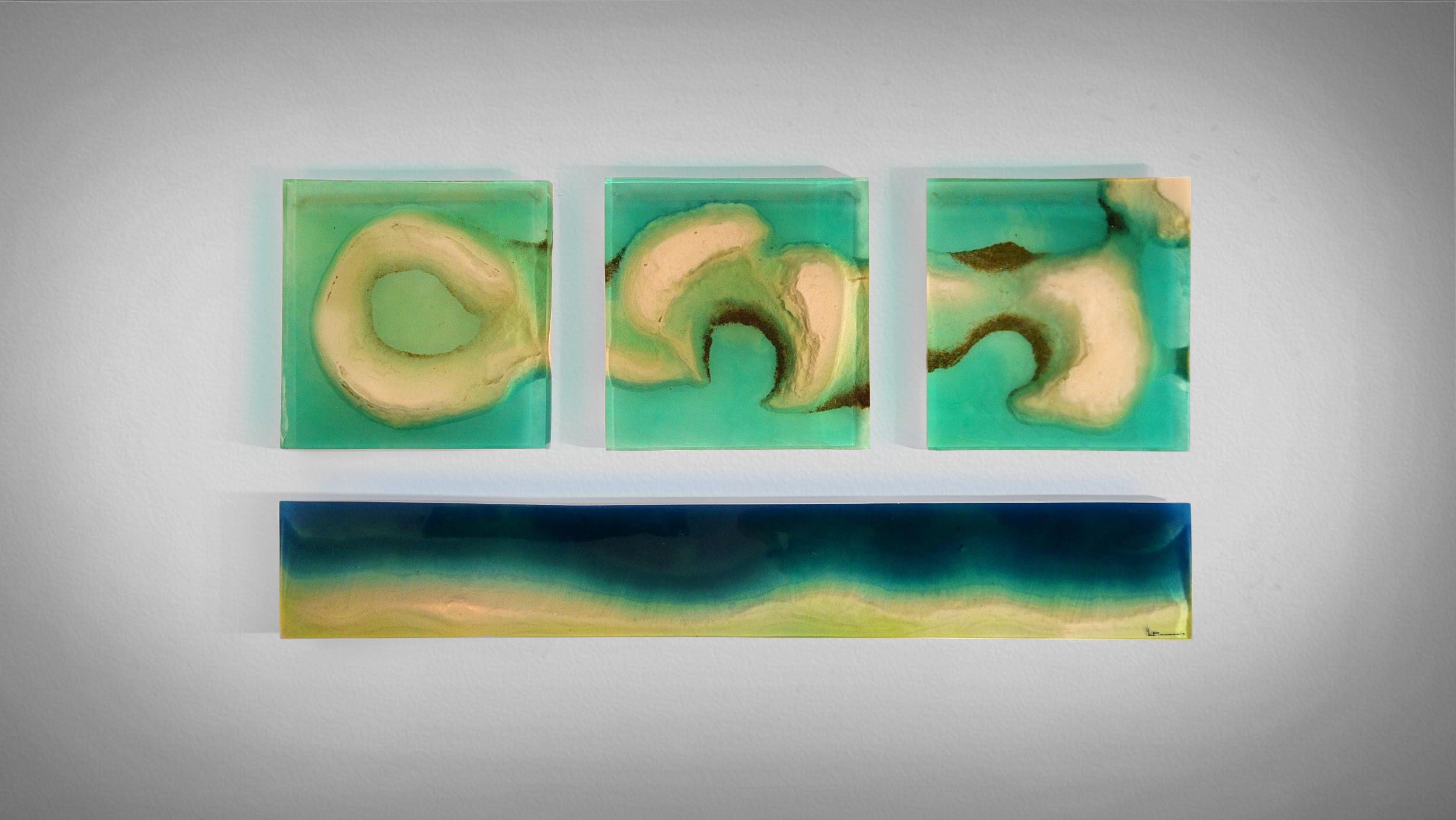Oceanus Blocks Wall Decoration