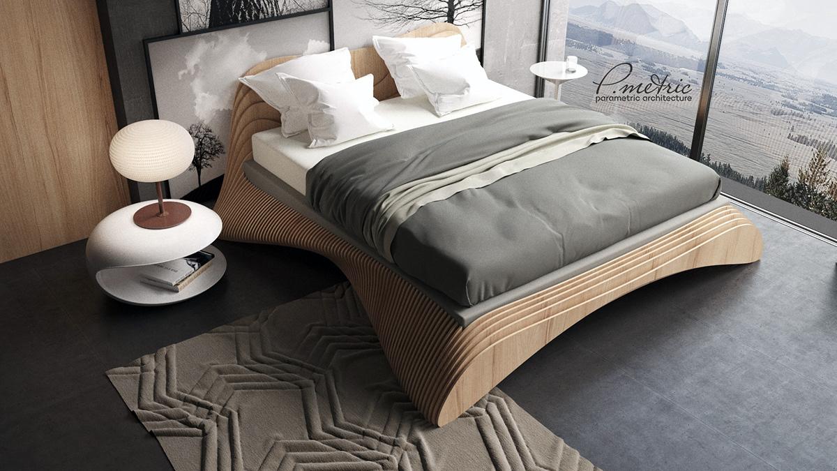 Parametric Bed