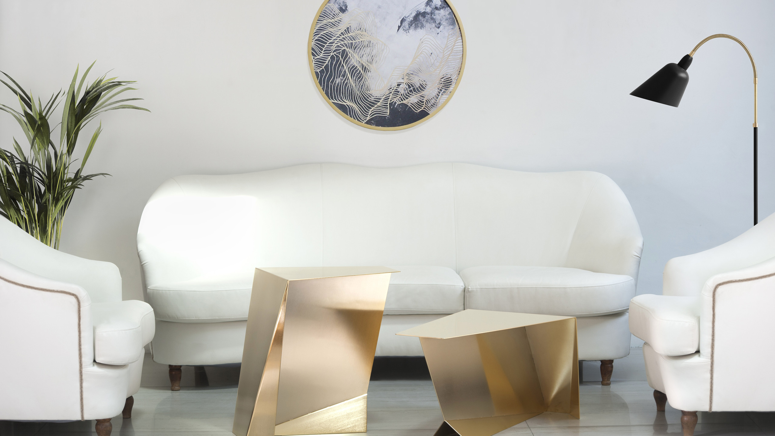 Pegasus Coffee Table & Perseus Side