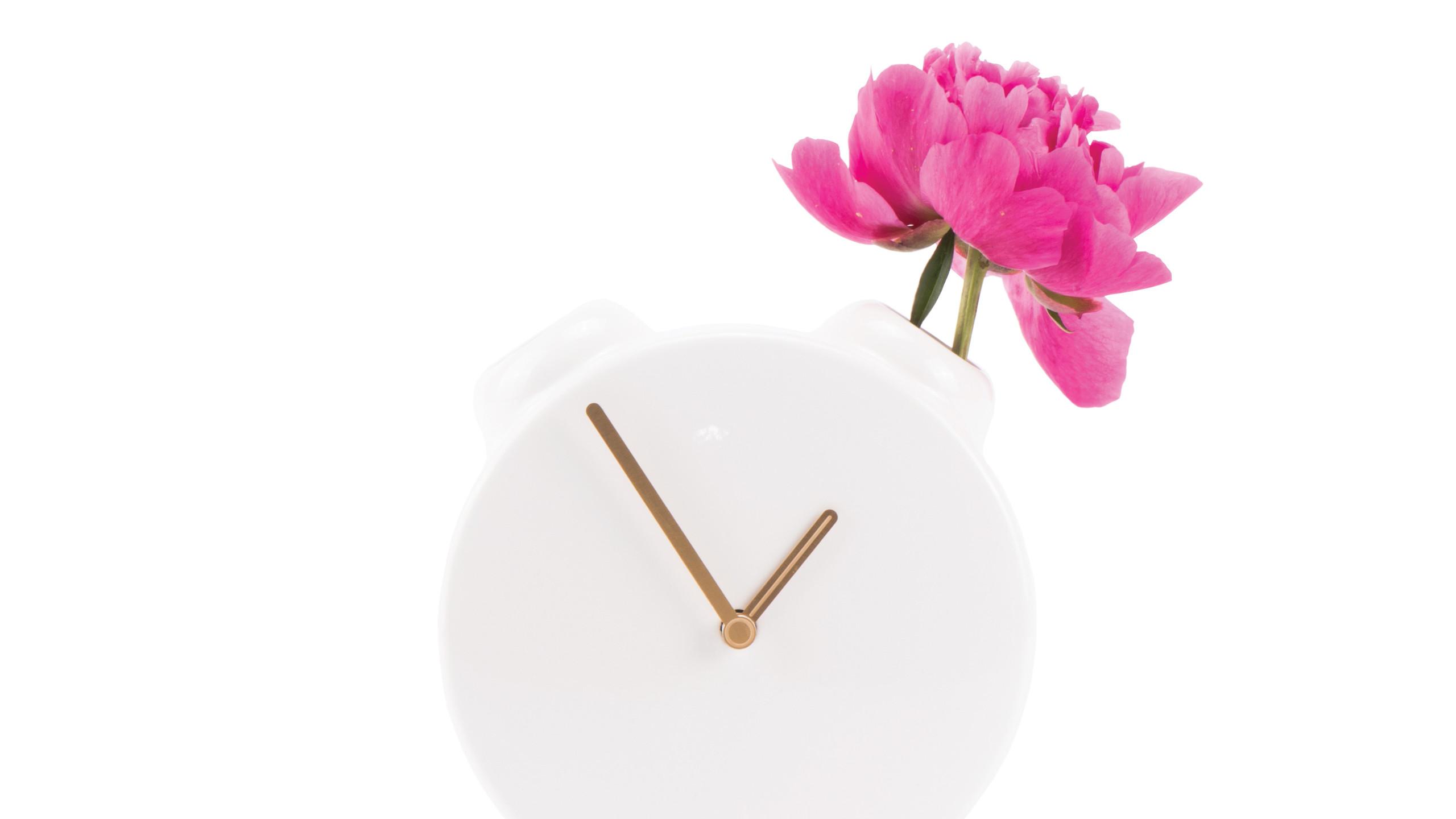 CLOCK-VASE