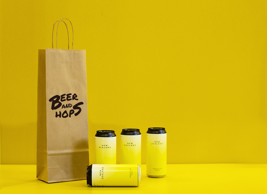 BEER AND HOPS, interior design