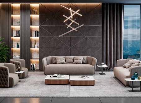 Contemporary luxury design by SM Living Couture