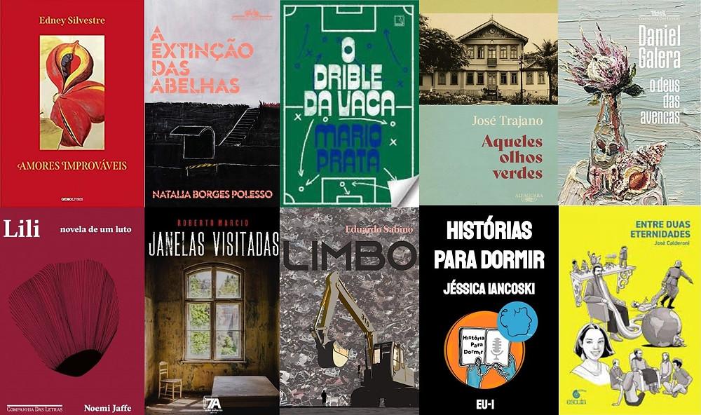 Livros brasileiros de ficção e poesia publicados em julho e agosto de 2021