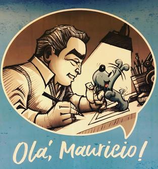 Exposições: Olá, Maurício! – 60 anos da carreira de Maurício de Sousa