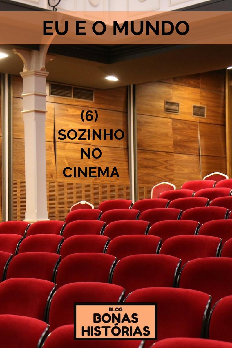 Crônica Sozinho no Cinema de Ricardo Bonacorci