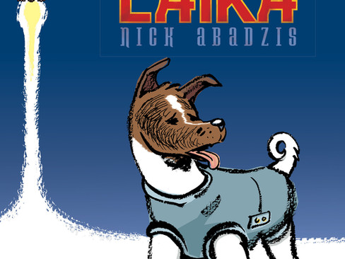Livros: Laika - A novela ilustrada de Nick Abadzis