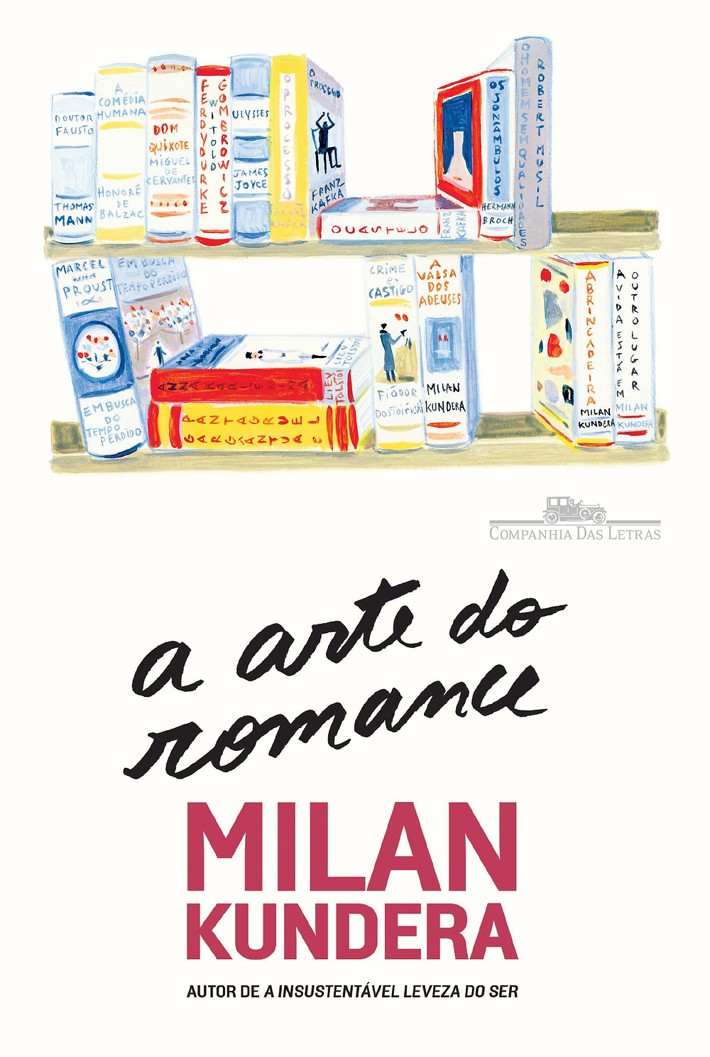 A Arte do Romance de Milan Kundera