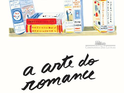 Livros: A Arte do Romance - O ensaio literário de Milan Kundera