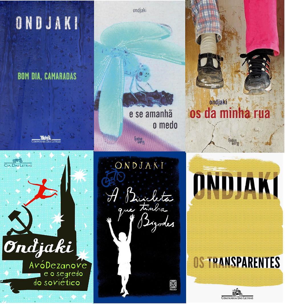 Livros de Ondjaki