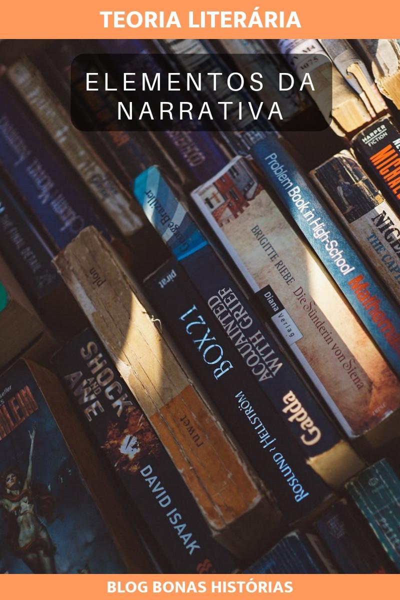 Elementos da Narrativa segundo a Teoria Literária