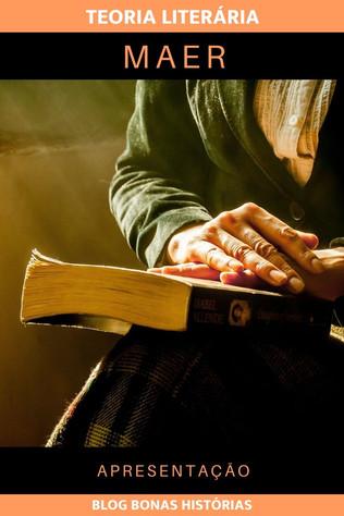 Teoria Literária - MAER - Apresentação