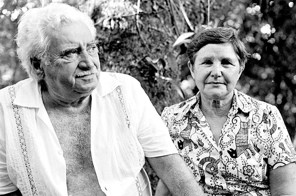 Jorge Amado e Zélia Gattai Amado