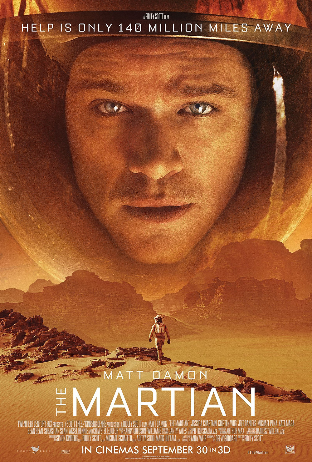 Perdido em Marte (The Martian: 2015)