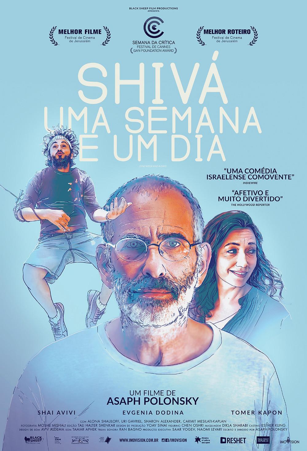Shivá - Uma Semana e Um Dia (Shavua ve Yom: 2016)