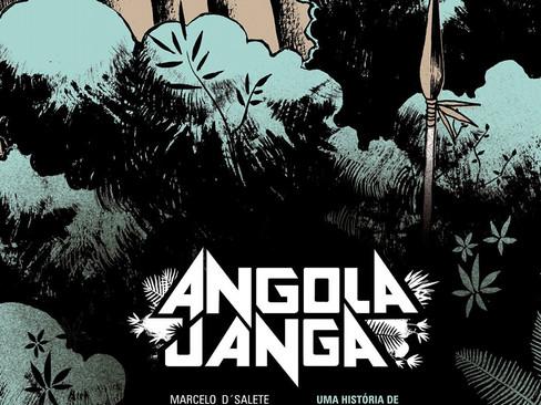 Livros: Angola Janga – O premiado romance gráfico de Marcelo D´Salete