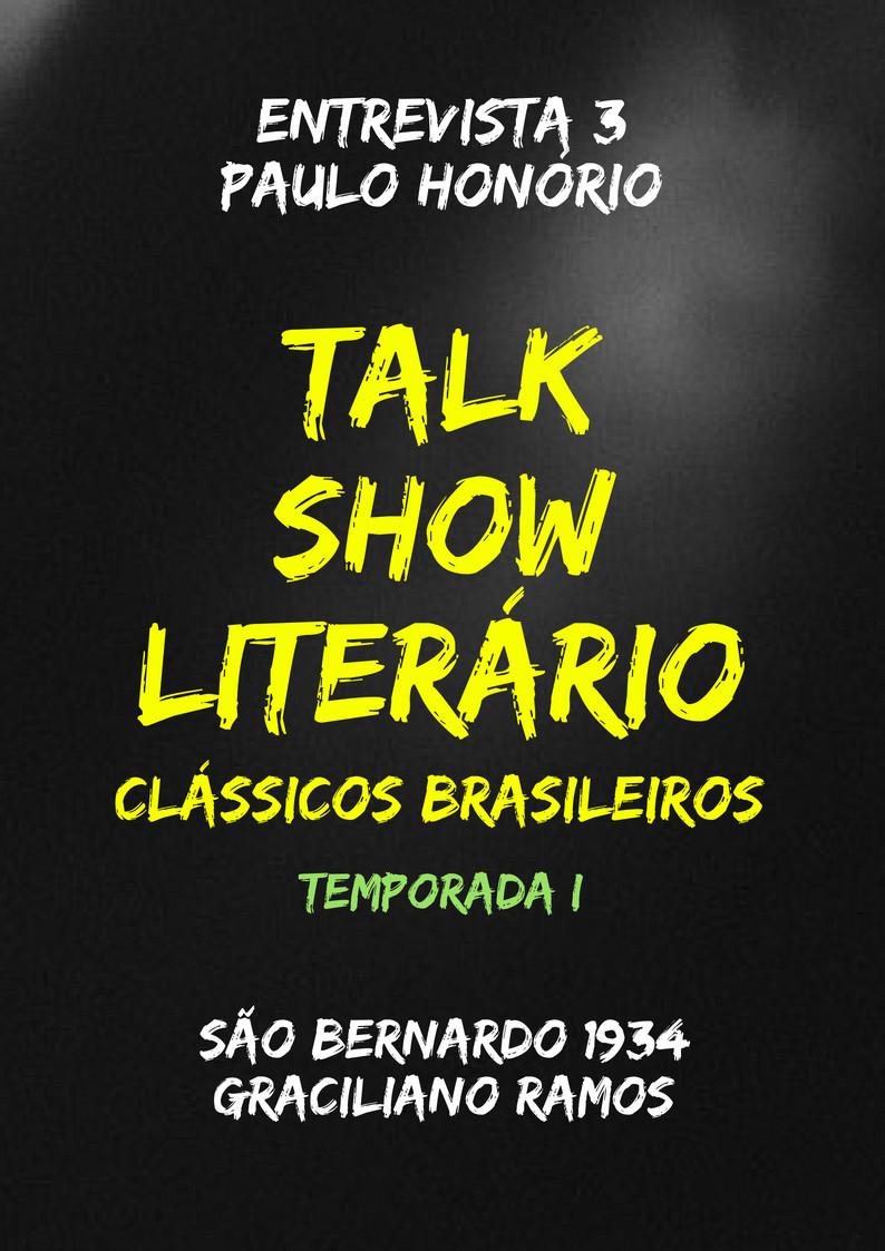 Talk Show Literário Paulo Honório