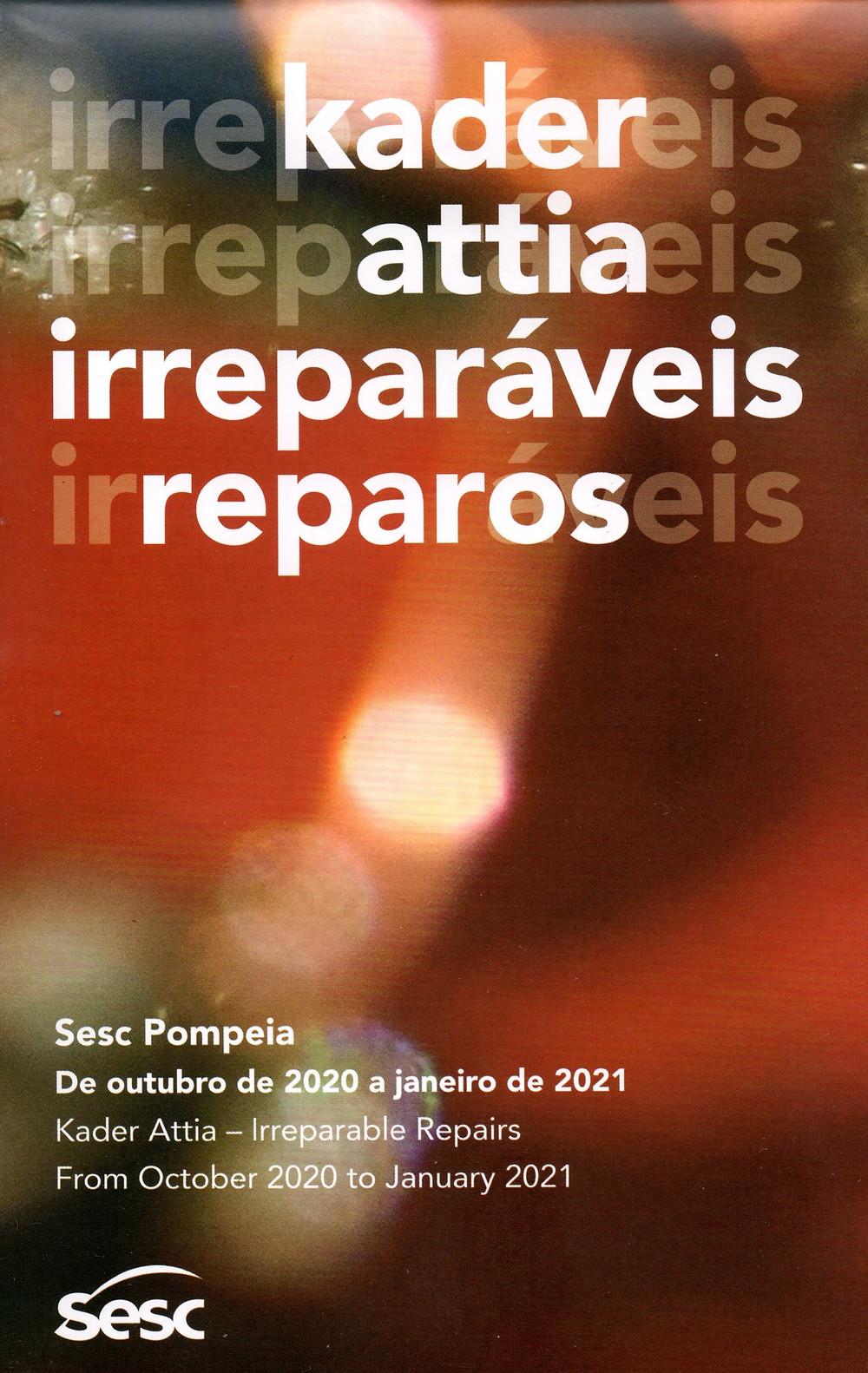 Exposição Irreparáveis Reparos de Kader Attia no Sesc Pompeia